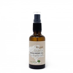 Organic beard oil with argan Dunya Naturals