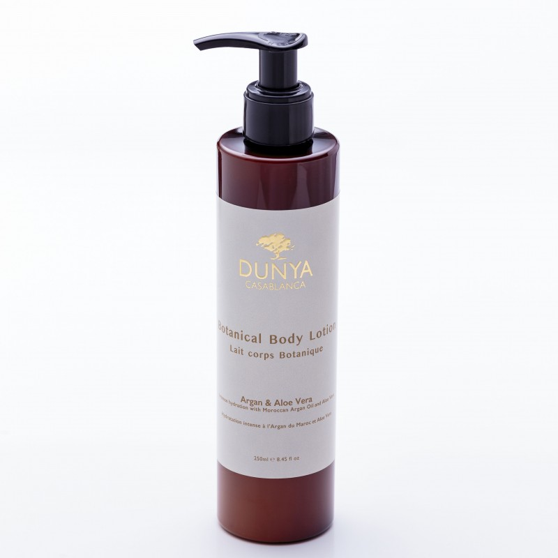 Body lotion with Organic Argan Oil and Aloe Vera DUNYA