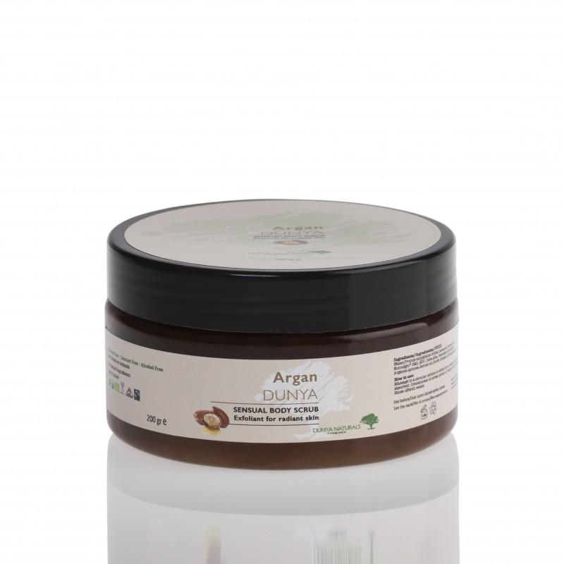 Скраб за кожа дитокс с Арган и мед Dunya Naturals